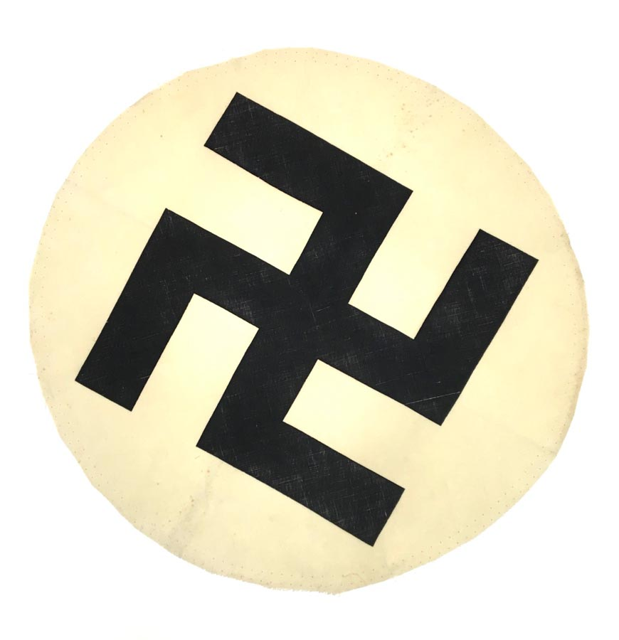 Battlefront Collectibles - German NSDAP Swastika Flag Center - SOLD -
